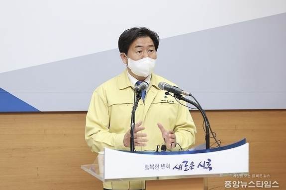 """임병택 시흥시장 """"버스는 공공재, 시민 불편 볼모 파업 좌시않겠다"""""""