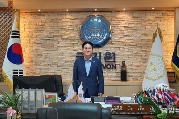 [인터뷰] 이동섭 국기원장,국기(國技)태권도 입법화와 기네스북 등재