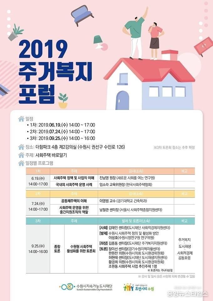 2019 주거복지 포럼 포스터